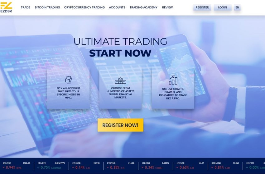EZDSK Review – An Exclusive Crypto Trading Platform
